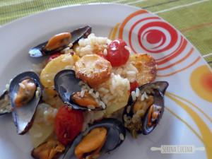 SerenaCucina - riso patate e cozze