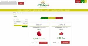 Sito il Melograno2013 piattaforma e-commerce