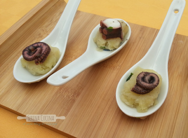 SerenaCucina - Polpo e patate finger