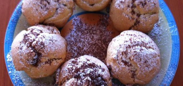 Muffin vaniglia e cioccolato senza burro