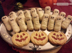 SerenaCucina - Mummie fantasma di Halloween
