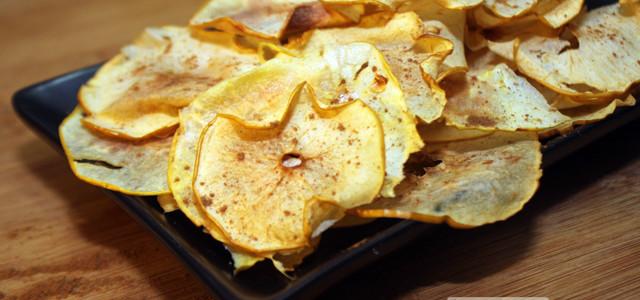 Chips di mele, uno snak sano e leggero