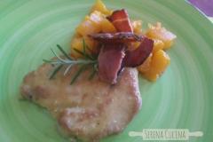 scaloppina prosciutto e melone - SerenaCucina